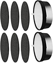 Smilyan LV-H132-RF Filter Replacement for LEVOIT LV-H132 Air Purifier, Includes 2 Pack 3-in-1 H13 Grade Ture HEPA Filters + 6 Pack Activated Carbon Pre-filters