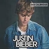 Justin Bieber 2021 Wall Calendar: 12 Months wall calendar for Justin Bieber...