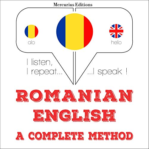 Romanian - English. A complete method audiobook cover art