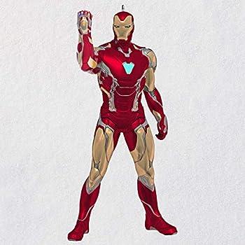 Hallmark Keepsake Christmas Ornament 2020 Marvel Studios Avengers  Endgame Iron Man Superhero Ornament