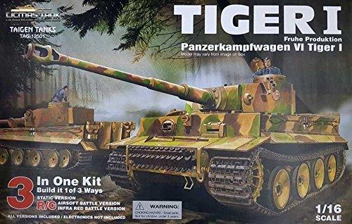 licmas RC fähiger Bausatz Panzer Tiger 1 von Taigen 1:16
