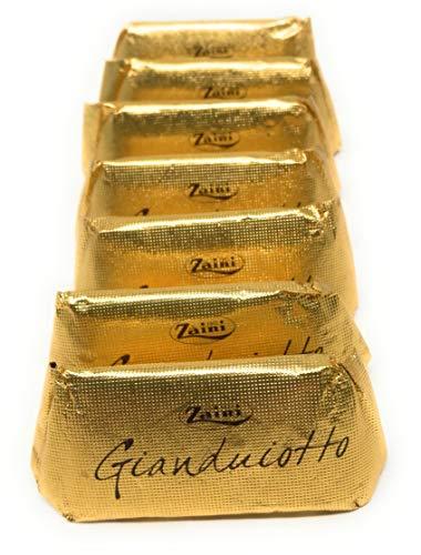 Zaini, Gianduiotto piedmontese Hazelnut Chocolate In Classic Gold Foil (50 pcs)