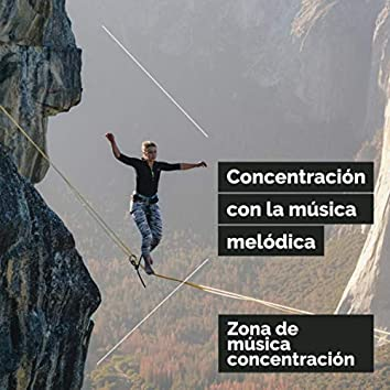 Concentración con la música melódica