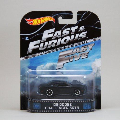 1/64 【ホットウィール】Hot Wheels【'08 DODGE CHALLENGER SRT8 「FAST & FURIOUS」】ダッヂ チャレンジャー/ワイルドスピード/レトロカー