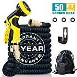 Best Pocket Hoses - 50FT Expandable Garden Hose, Extra Strength 3750D Expanding Review