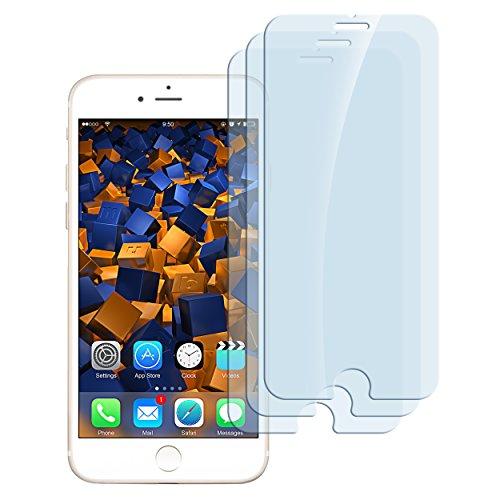 mumbi ECO Hart Glas Folie kompatibel mit iPhone 7 Panzerfolie/iPhone 8 Panzerfolie, Schutzfolie Schutzglas (3X)
