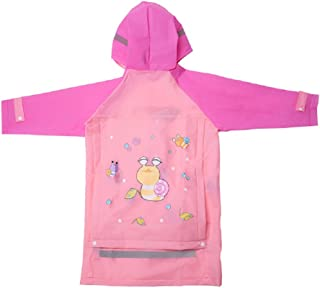 LEMONKID Kid Raincoats Boys /& Girls Raincoats Kid Snow /& Rainwear 3 to 15 Years Old LE0103