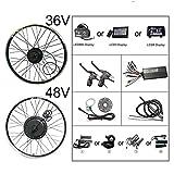 Conversión del Kit eléctrico de Bicicleta Bluetooth 48 V...