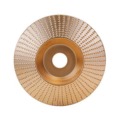 Lepeuxi Nr. 45 Stahl Holz Winkelschleifscheibe Schleifen Carving Rotary Tool Schleifscheibe für Drahtbürste für Winkelschleifer mit 16mm Bohrung