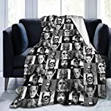 """Universal Monsters Ultra Soft Micro Fleece Blanket Holiday Winter Cabin Warm Blankets for Sofa Bed Office 60""""X 50"""" Travel Multi-Size for Adult"""