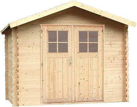 Alpholz Geratehaus MONS Aus Fichten Holz