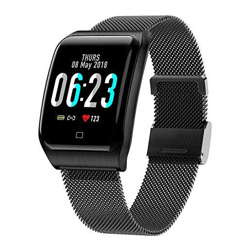 WYLZLIY-Home G10 Pulsera inteligente saludable con monitor de presión arterial de frecuencia cardíaca, reloj impermeable con monitor de sueño rastreador de fitness