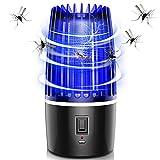 Insektenvernichter,Elektrischer Schlag Mosquito Killer-Lampe mit 360-Grad-LED-Licht, geeignet für...