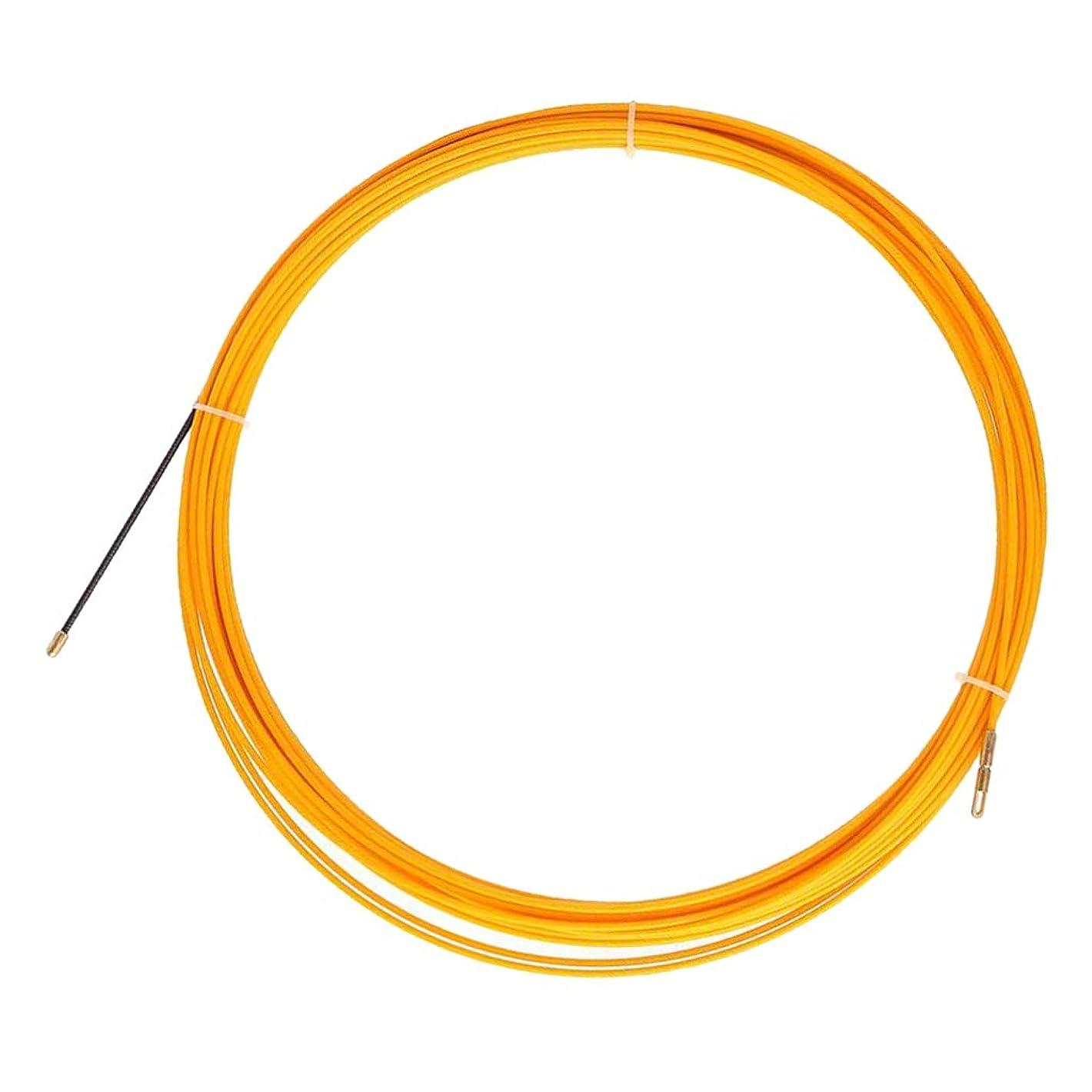 インフラコンパクトシガレットH HILABEE 通線ワイヤー 30m グラスファイバーワイヤー 入線工事 入線専用ワイヤー 通線工具 4mm径