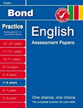 Bond English Assessment Papers 6-7 years by Sarah Lindsay (2012-06-25)