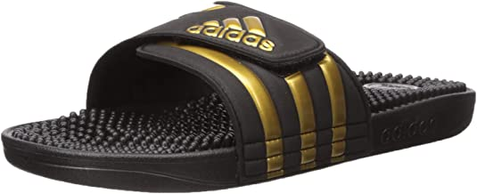 adidas Mens Adisage Sandal - Black Gold