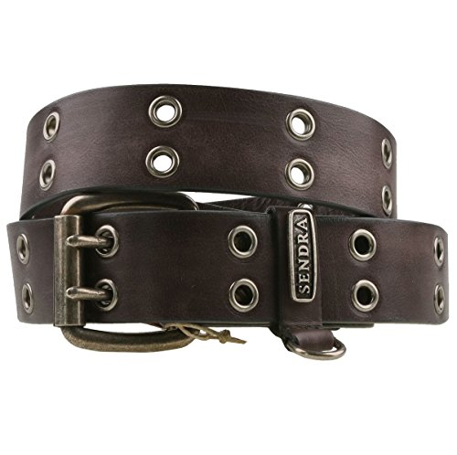 Sendra 5359 ceinture en cuir anthracite - Gris - 100