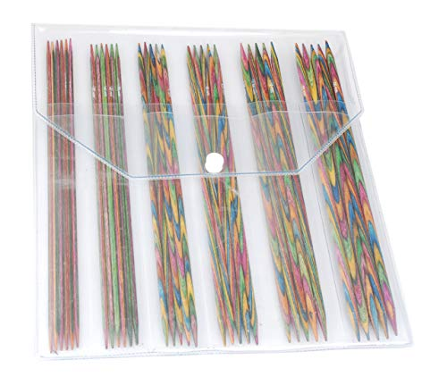 KnitPro 20631 Nadelspiel Set Symfonie Holz 20 cm