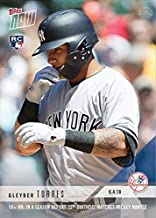 2018 Topps Now Baseball #288 Gleyber Torres Rookie Card - 10+ Home Runs Before 22nd Birthday Matches Mickey Mantle - Only 2,823 made!