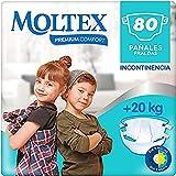 Moltex Premium Comfort Pañales Junior (+20 kg) - 80 Pañales
