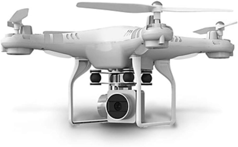 DHHZRKJ 1080P HD-Kamera-Drohne mit hohem Wartungsaufwand, WiFi-Echtzeitübertragung für Einsteiger-Drohnen,Weiß
