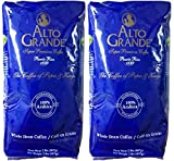 Alto Grande Super Premium Coffee Whole Beans, 2 pound bag (Pack of 2)