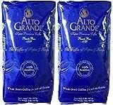 Alto Grande Super Premium Coffee Whole Beans, 2 pound bag (Pack of 2)
