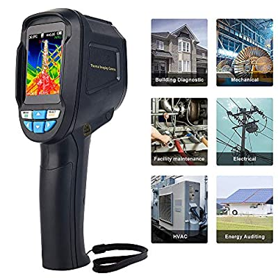 Infrared Imager/Thermal Imager, 220 X 160 Thermal Imaging Camera / thermal imager / infrared camera Uses Infrared to Measure Surface Temperature with Real Time Image with 2.4 inch Color Display Screen