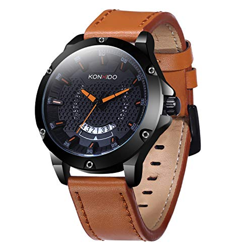 Mens Quartz Business Casual Fashion Analog Wrist Watch -$9.99(60% Off)