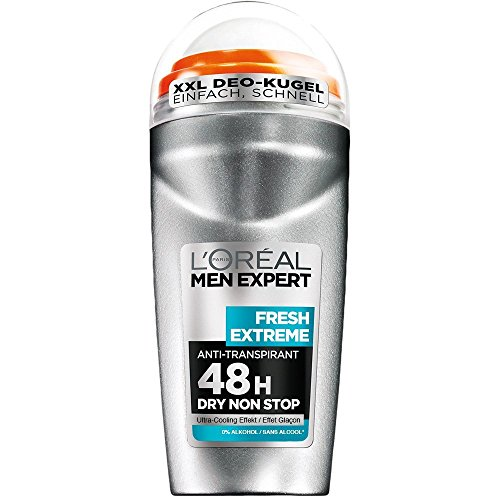 L'Oréal Men Expert Desodorante Roll-On Fresh Extreme, 6er Pack (6 x 50 ml)