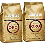 Lavazza Qualita Oro Coffee Beans 1Kg (Pack of 2)