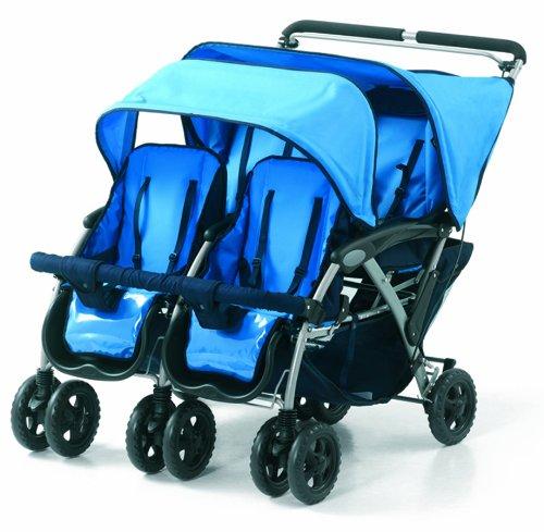 Foundations Vierer Kinderwagen für vier Kinder