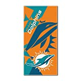 NFL Miami Dolphins 'Puzzle' Beach Towel, 34' x 72'