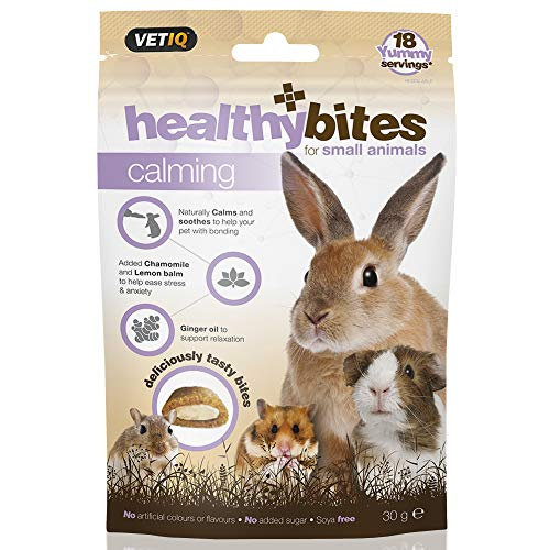 VetIQ Healthy Bites Calming Treats for Small Animals - Pack of 3