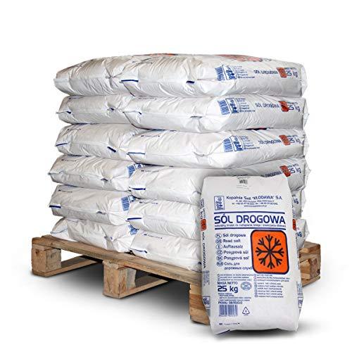 Paligo strooizout, steenzout, steenzout, winterzout, toilet, granulaat, zout, 25 kg x 12 zak, 300 kg, 1 pallet