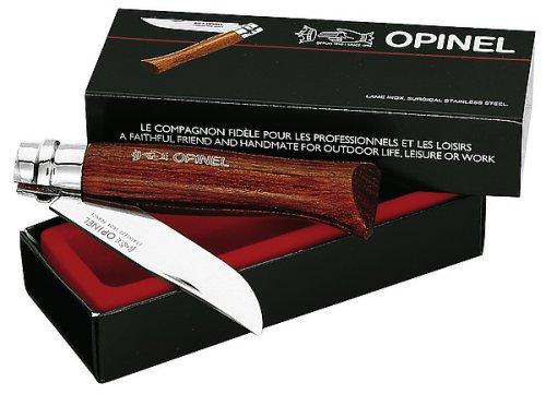 Opinel Taschenmesser Luxus No. 6 Bubinga Holz, rostfrei