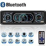Autoradio USB Bluetooth Mains Libres, MEKUULA Poste Radio Voiture 4x60W 1 Din MP3...