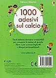 Zoom IMG-1 1000 adesivi sul calcio ediz