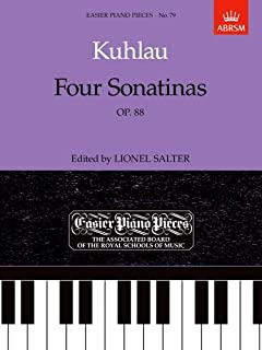 Four Sonatinas, Op. 88: Easier Piano Pieces 79