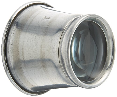 Eurotool Aluminum Eye Loupe for Jewelers with 10X Magnification Pow