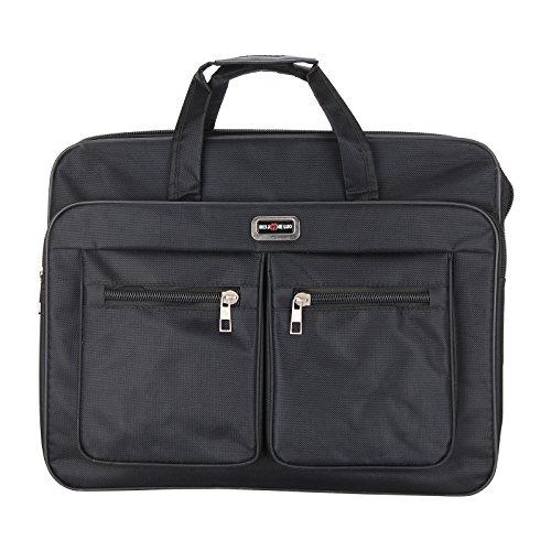Laptop Bag 17 Inch Black Nylon Computer Handbag Waterproof Business Laptop...
