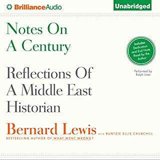 Notes on a Century audiobook cover art