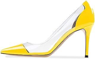 ea5a3a91a500 Amazon.com  11.5 - Yellow   Pumps   Shoes  Clothing