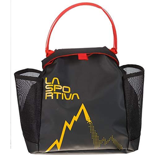 LA SPORTIVA Training Chalk Bag Giallo-Nero Accessori per arrampicata Taglia Unica - Colore Nero - Giallo
