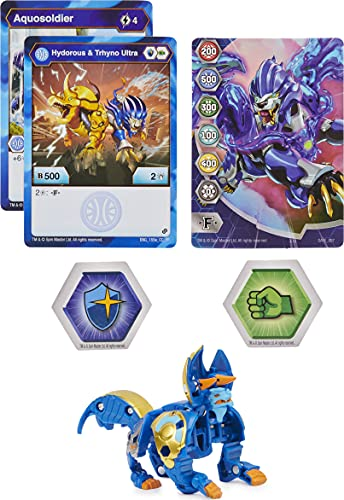 Bakugan Ultra Season 2 Armored Alliance Collectible Action Figure and Trading Card (Styles Vary)
