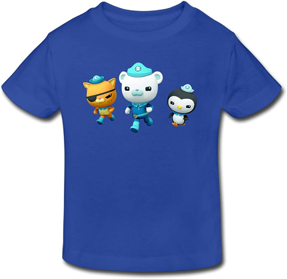 Radyk56rtyh Toddler's 100% Cotton The Octonauts Cute T-Shirt