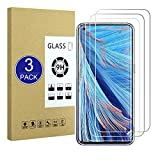 X-Dision [3 Stück Kompatibel mit Oppo Find X2 Neo Bildschirm Schutzfolie,2.5D Schutzfolie[9H Festigkeit,Einfache Installation, Bruchsicher] Premium Zubehör Gehärtete Glasfolie