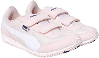 Puma Unisex's Whirlwind Mesh Ps Idp Pearl White Sneakers