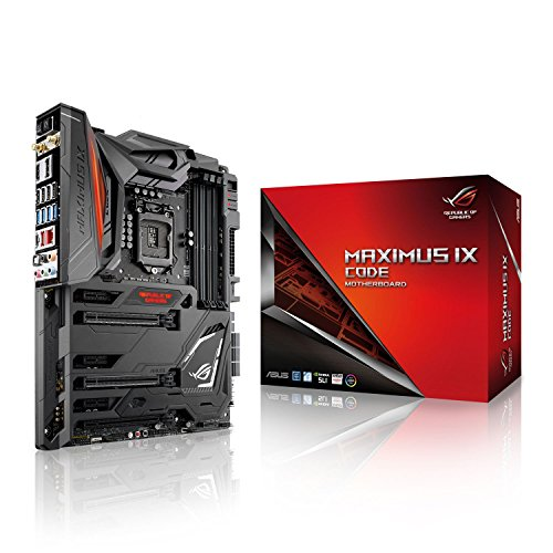 ASUS MAXIMUS IX CODE Scheda Madre, Socket 1151 ATX con Water Cooling Zone, Aura Sync, 802.11ac Wi-Fi, Dual M.2, USB 3.1 Type-A/C