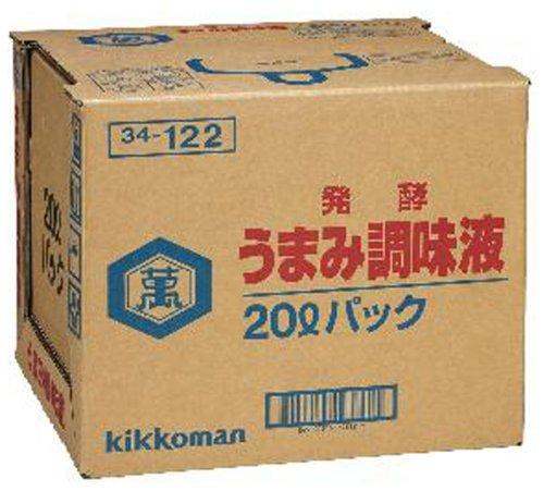キッコーマン 発酵うまみ調味液 20L